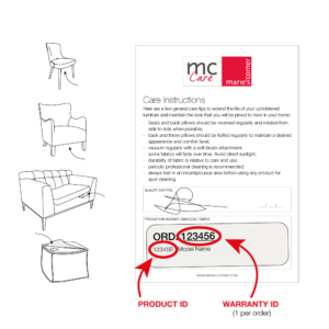 Mc Care Find Product Id